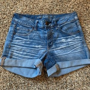 American eagle jean shorts.